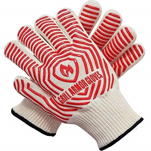 Grill Armor heat resistant gloves