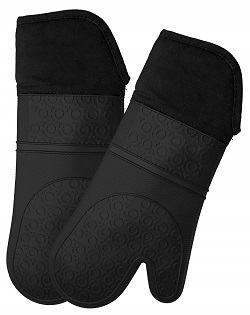 Long Silicone Oven Mitt