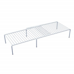 adjustable white shelf