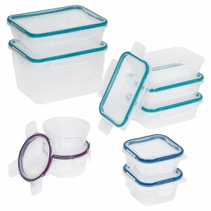 snapware 18-piece storage set