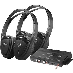 Power Acoustik HP902R Wireless Headphones