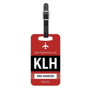 shutterfly personalized luggage tags