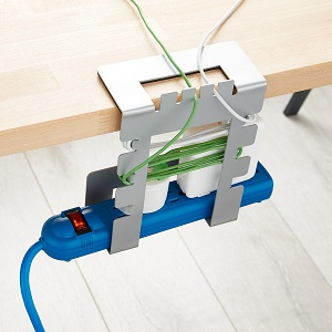 Hanging cable cord organizer