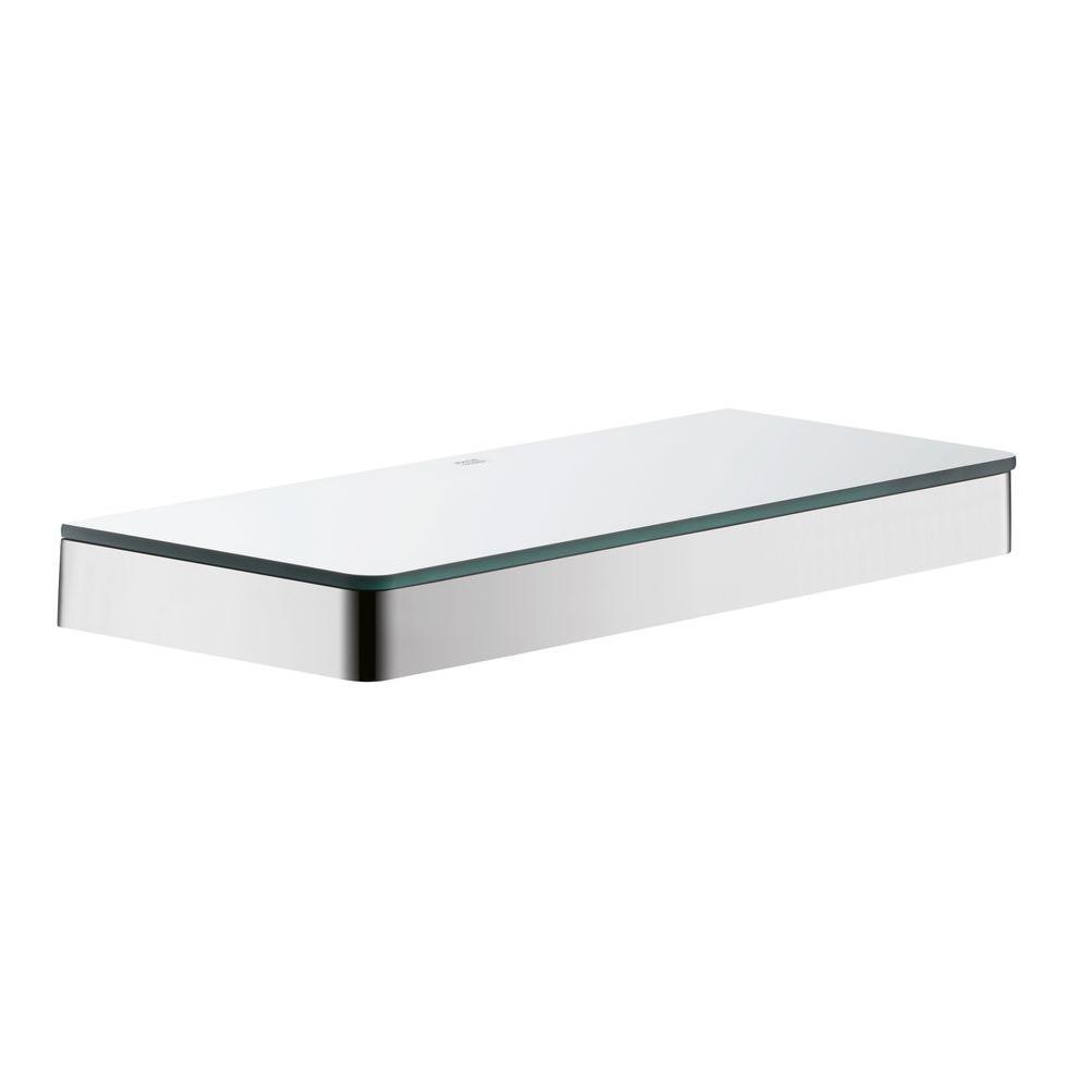 Axor chrome shelf