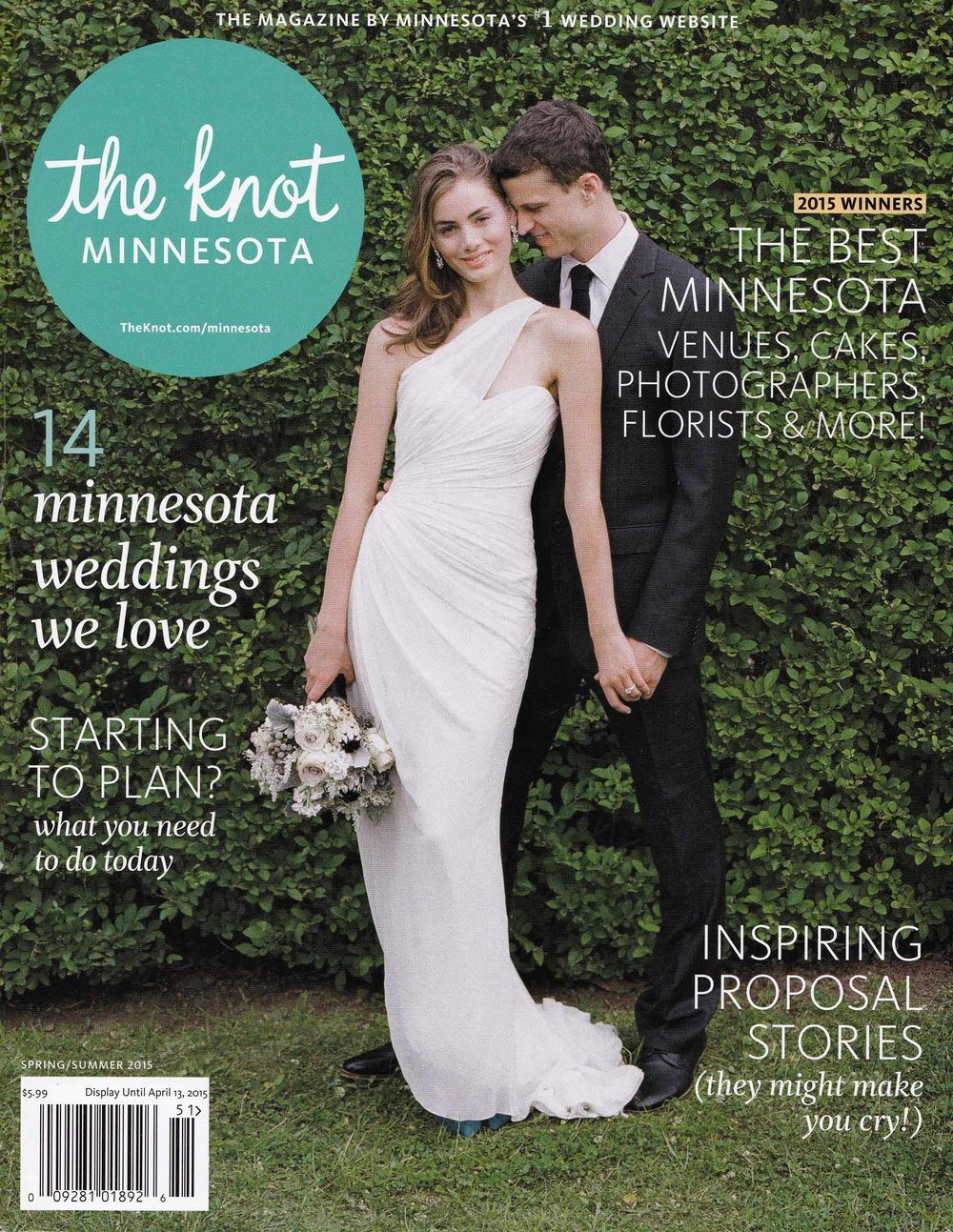 2015 THE KNOT MAGAZINE -