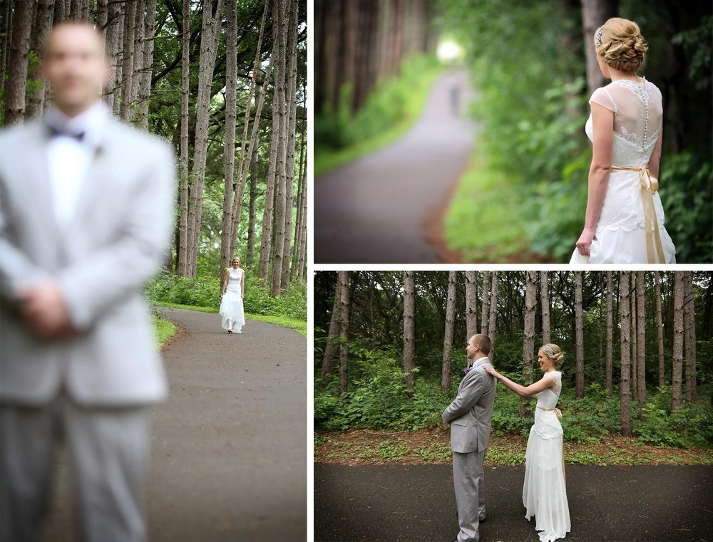 03-Minneapolis-MN-Wedding-Photography-by-Vick-Photography-Rustic-Forest-Woods-First-Look-Alyssa-&-Blake.jpg