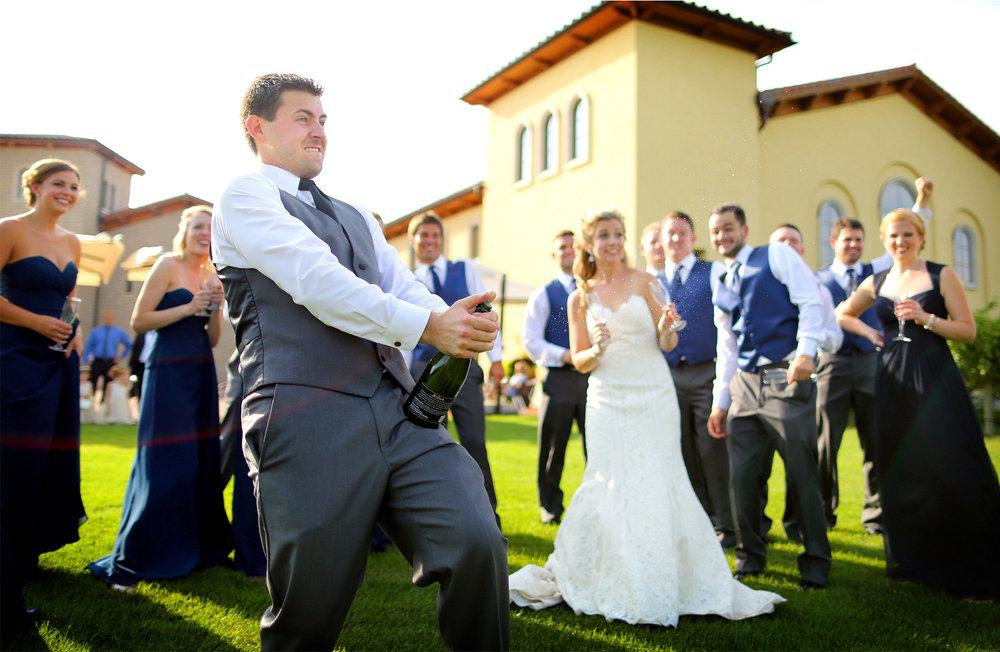 10-Lake-Pepin-Wisconsin-Wedding-Photography-by-Vick-Photography-Villa-Bellezza-Vineyard-Winery-Toasting-Wedding-Party-Emily-&-Sam.jpg