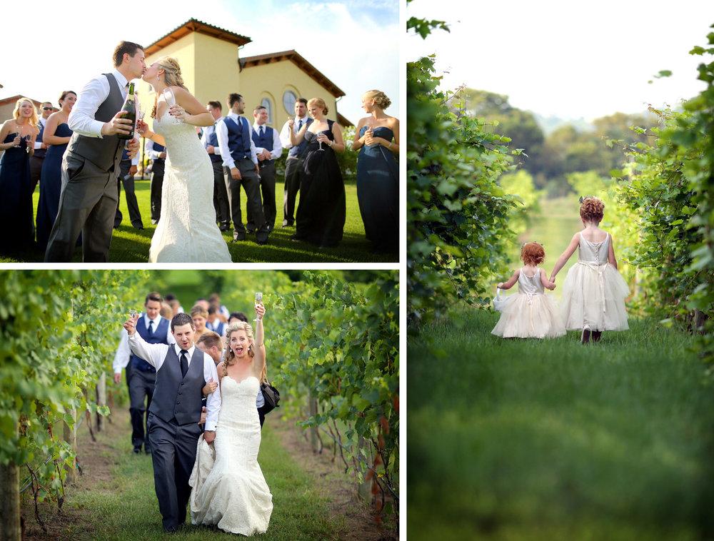 11-Lake-Pepin-Wisconsin-Wedding-Photography-by-Vick-Photography-Villa-Bellezza-Vineyard-Winery-Toasting-Wedding-Party-Emily-&-Sam.jpg