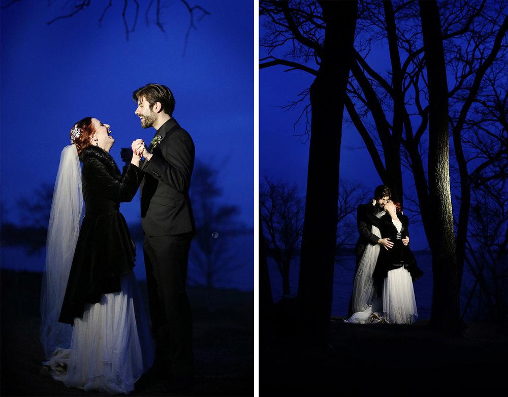 17-Minneapolis-Minnesota-Wedding-Photography-by-Vick-Photography--Chanhassen-Night-Photography-Winter-Dark-Trees-Ashley-and-Aaron.jpg