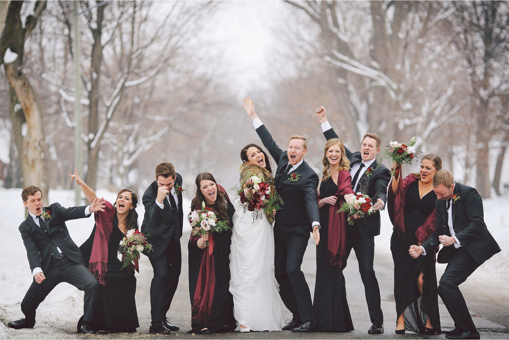 09-Minneapolis-Wedding-Photography-by-Vick-Photography-Snow-Winter-Wedding-Wedding-Party-Group-Dancing-Laura-and-Michael.jpg