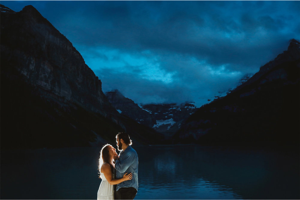 15-Banff-Canada-Engagement-Photography-by-Vick-Photography-Mountains-Lake-Louise-Night-Photography-Lizz-and-Brady.jpg