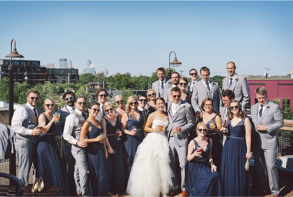 16-Minneapolis-Minnesota-Wedding-Photography-by-Vick-Photography-Wedding-Party-Toasting-Cheers-Brigid-and-Ernie.jpg