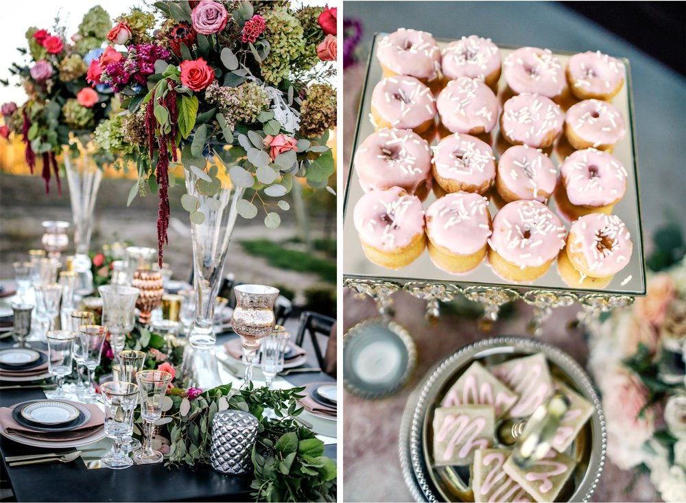 10-Ashery-Lane-Farm-Minneapolis-Minnesota-Wedding-Styled-Shoot-New-Venue-Barn-Orchard-Vineyard-Dinner-Place-Setting-Plates-Decor-Donuts.jpg