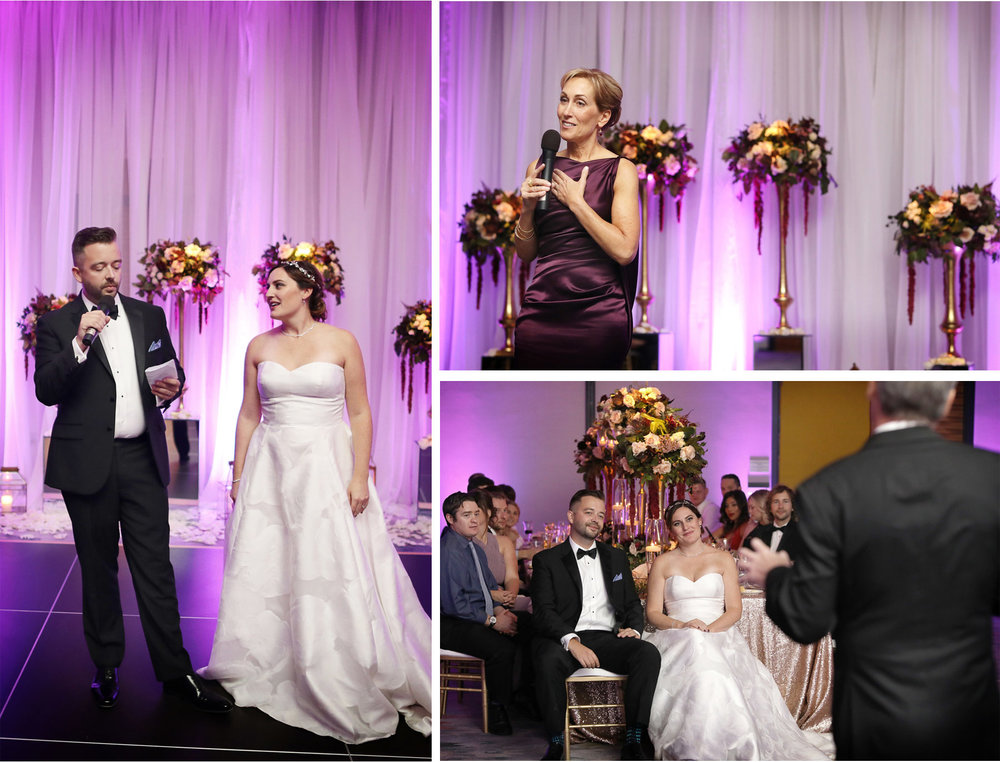 19-Minneapolis-Minnesota-Wedding-Photography-by-Vick-Photography-Loews-Hotel-Reception-Pink-Lighting-Toasts-Caitlin-and-Alec.jpg
