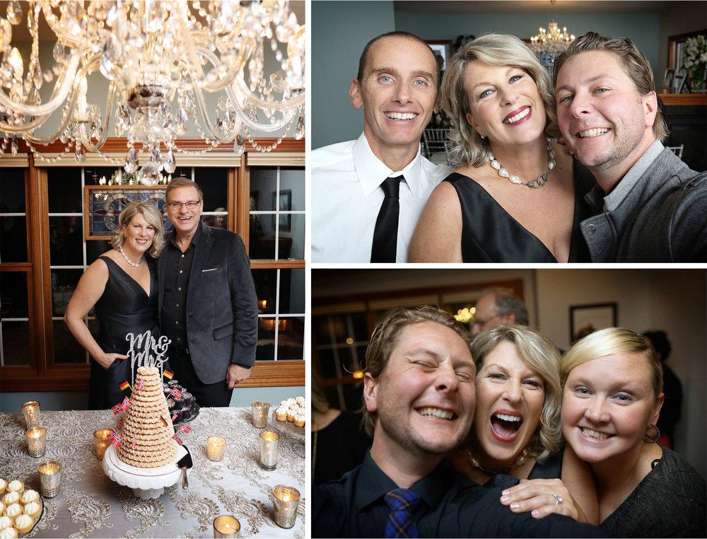 15-Minneapolis-Minnesota-Wedding-Photography-by-Vick-Photography-Home-Wedding-Living-Room-Reception-Cake-Joan-and-Tim.jpg