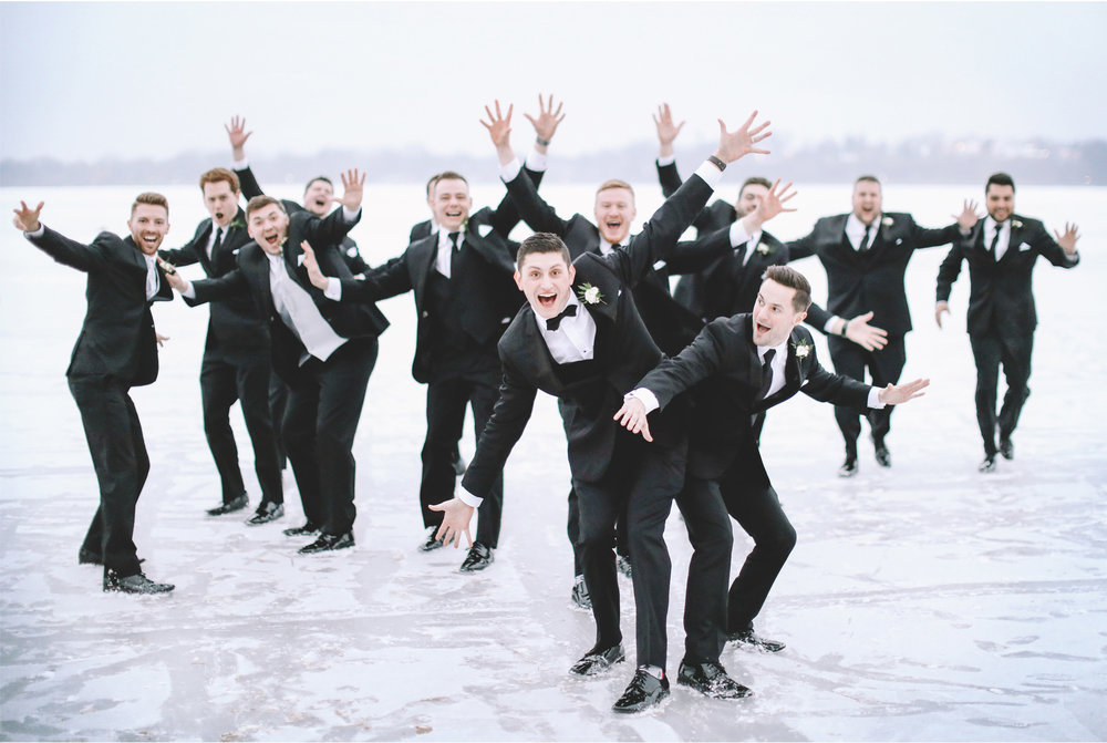 17-Minneapolis-Minnesota-Wedding-Photographer-by-Vick-Photography-Winter-Wedding-Frozen-Lake-Groomsmen-Snow-Maggie-and-Matt.jpg