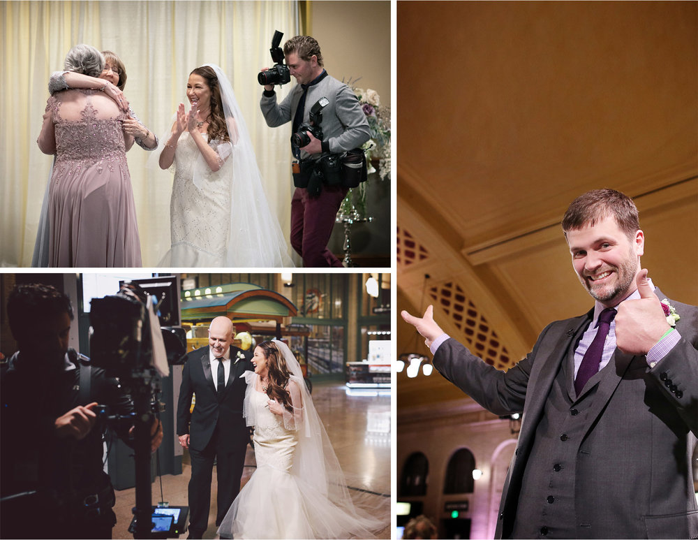 11-Andrew-Vick-Photography-My-Great-Big-Live-Wedding-with-David-Tutera-Behind-the-Scenes-Minnesota-Union-Depot-Saint-Paul-Suprise-Father-of-the-Bride-Groom.jpg