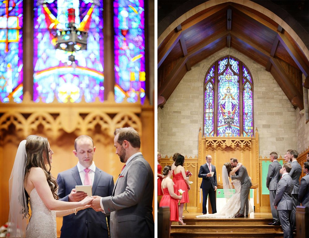 13-Minneapolis-Minnesota-Wedding-Photographer-by-Andrew-Vick-Photography-Summer-Diamond-Lake-Church-Ceremony-First-Kiss-Embrace-Vows-Bridesmaids-Groomsmen-Bride-Groom-Natalie-and-Andrew.jpg