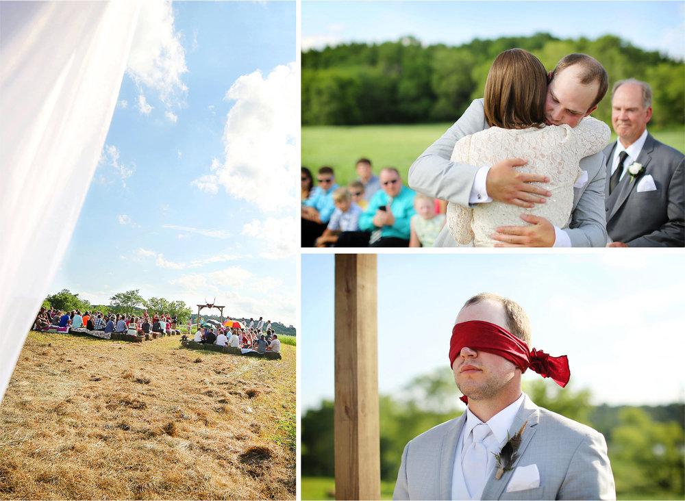 14-South-Haven-Minnesota-Wedding-Photographer-by-Andrew-Vick-Photography-Summer-Tomala-Farm-Ceremony-Groom-Parents-Blidefold-Renee-and-Bobb.jpg