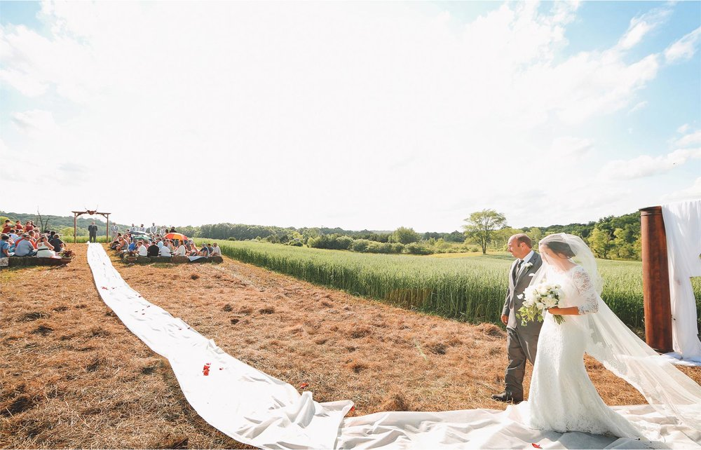 17-South-Haven-Minnesota-Wedding-Photographer-by-Andrew-Vick-Photography-Summer-Tomala-Farm-Ceremony-Bride-Parents-Father-Aisle-Vintage-Renee-and-Bobb.jpg