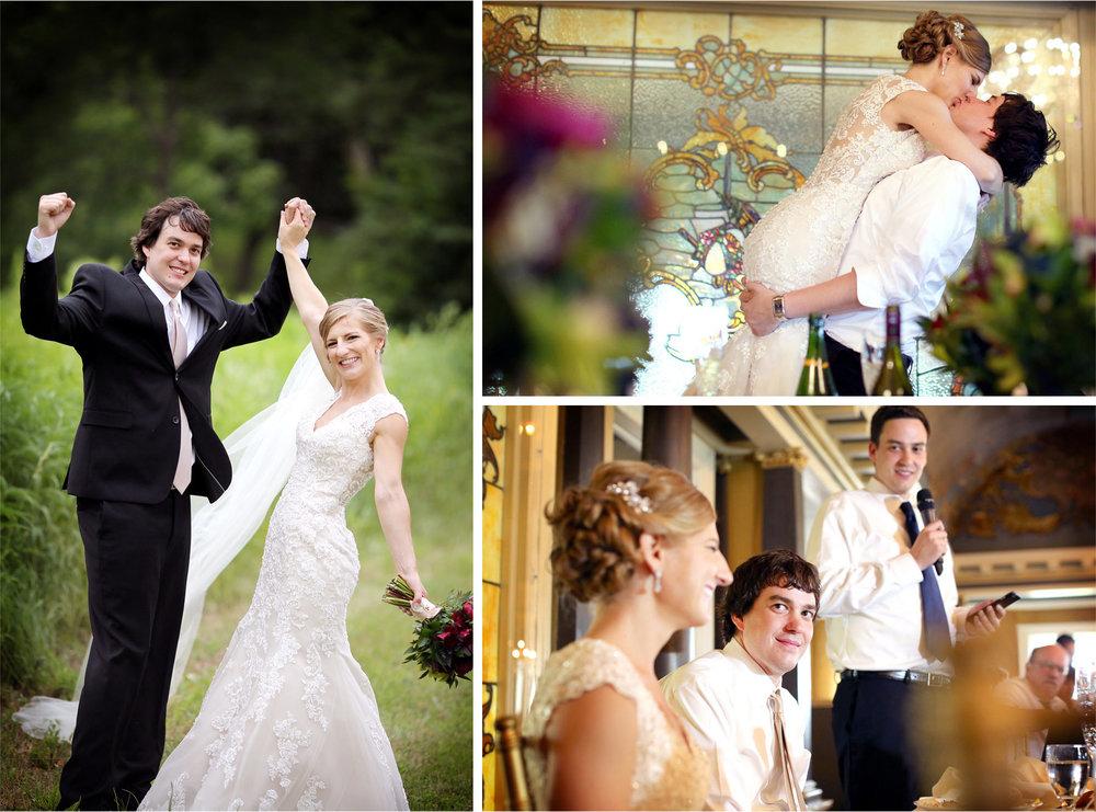 16-Minneapolis-Minnesota-Wedding-Photographer-by-Andrew-Vick-Photography-Summer-Semple-Mansion-Reception-Bride-Groom-Celebration-Kiss-Speeches-Stephanie-and-Brady.jpg