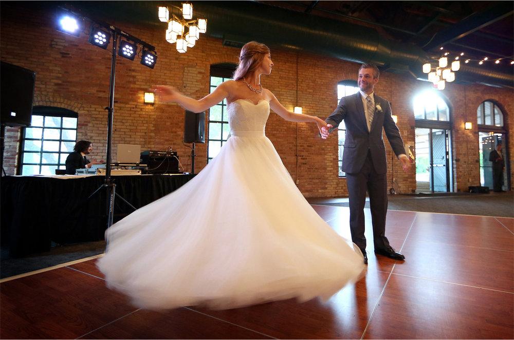 19-Minneapolis-Minnesota-Wedding-Photographer-by-Andrew-Vick-Photography-Summer-Bride-Groom-Nicollett-Island-Pavilion-Dress-Dance-Twirl-Katie-and-Travis.jpg