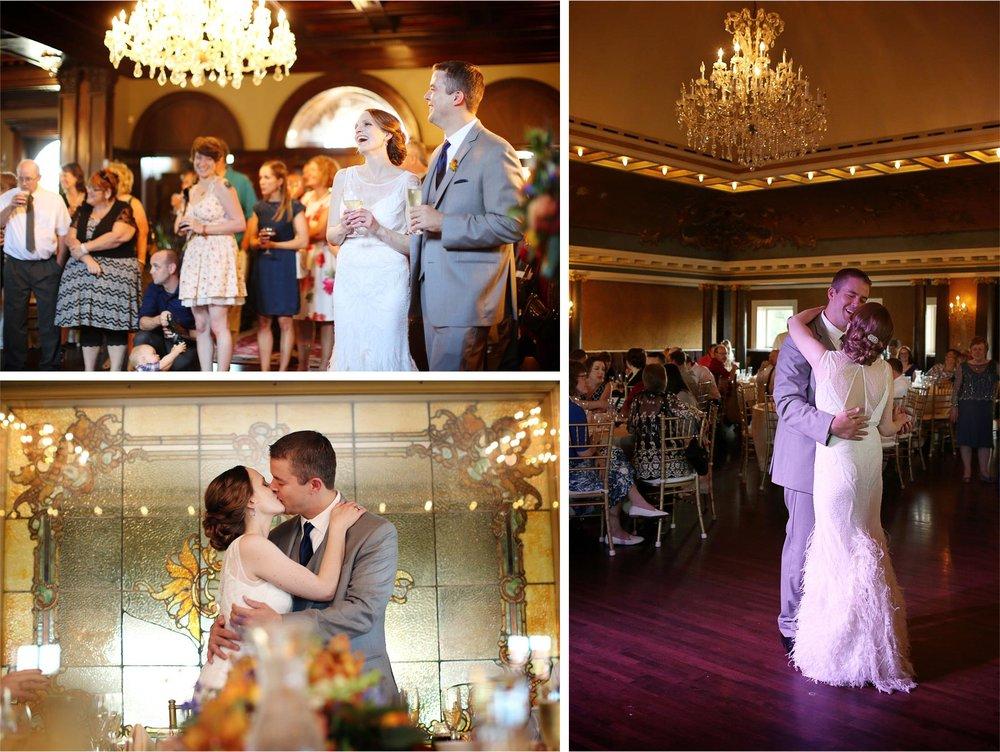 26-Minneapolis-Minnesota-Wedding-Photographer-by-Andrew-Vick-Photography-Summer-Bride-Groom-Reception-Speeches-Toasts-Kiss-Dance-Stephanie-and-Robert.jpg