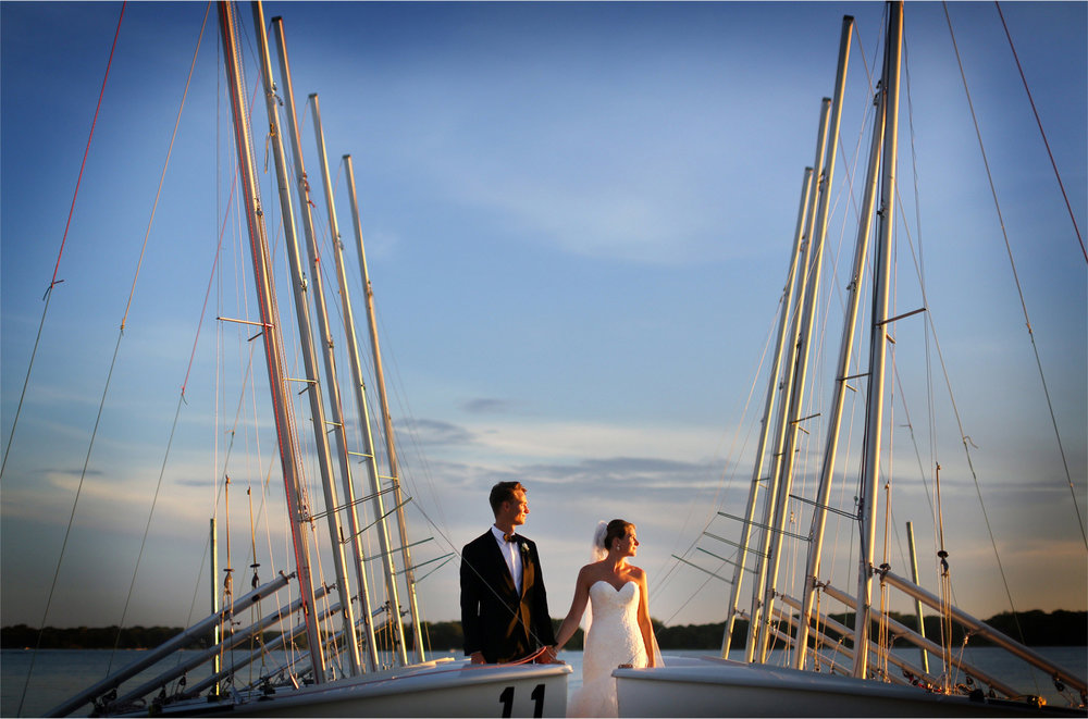 14-White-Bear-Lake-Minnesota-Wedding-Photographer-by-Andrew-Vick-Photography-Summer-Yacht-Club-Bride-Groom-Docks-Sailboats-Boats-Sunset-Hallie-and-Ted.jpg