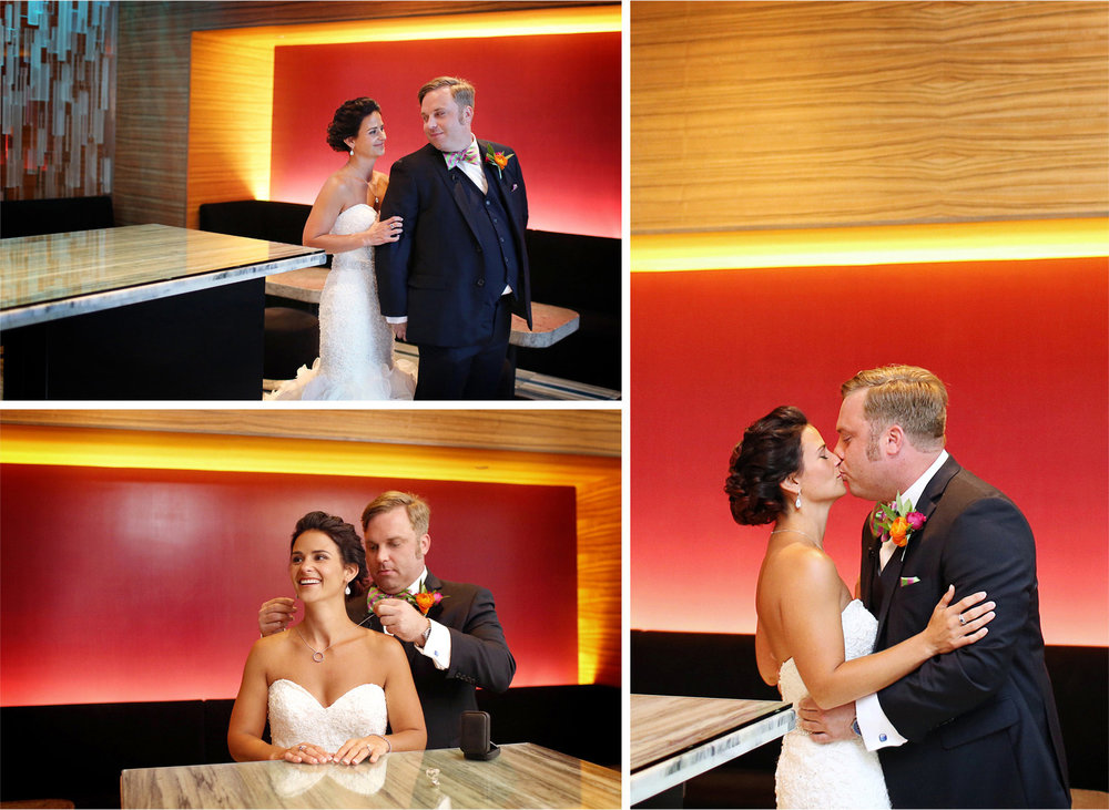 06-Minneapolis-Minnesota-Wedding-Photographer-by-Andrew-Vick-Photography-Summer-Loews-Hotel-Bride-Groom-Kiss-Necklace-Gift-First-Meeting-Look-Lindsay-and-Dustin.jpg