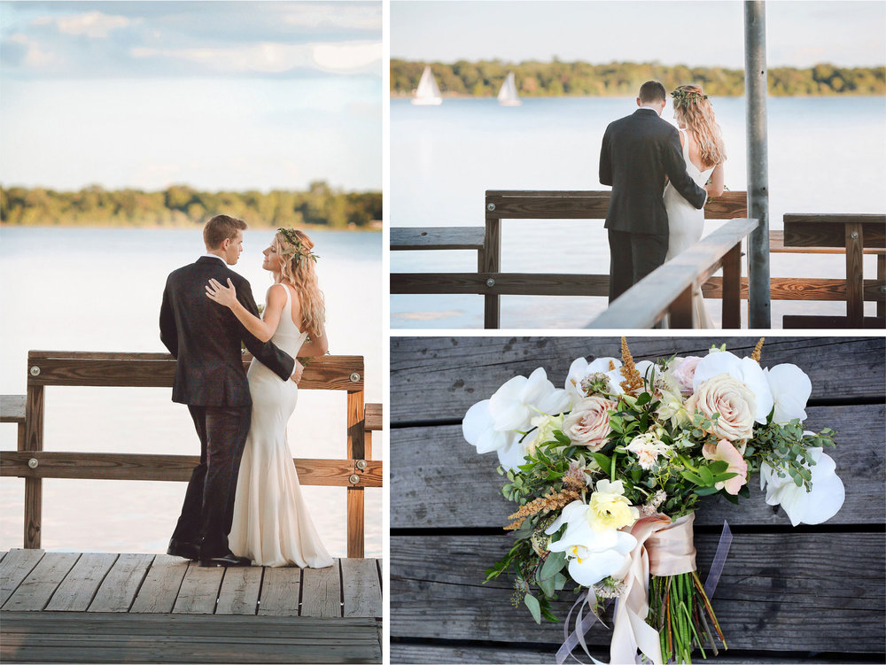 17-Minneapolis-Minnesota-Wedding-Photographer-by-Andrew-Vick-Photography-Summer-Lake-Calhoun-Bride-Groom-Flowers-Docks-Sailboat-Lexie-and-James.jpg