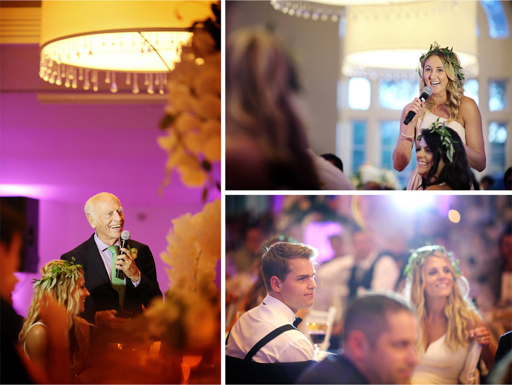 26-Minneapolis-Minnesota-Wedding-Photographer-by-Andrew-Vick-Photography-Summer-Calhoun-Beach-Club-Reception-Speeches-Toasts--Bride-Groom-Bridesmaid-Lexie-and-James.jpg