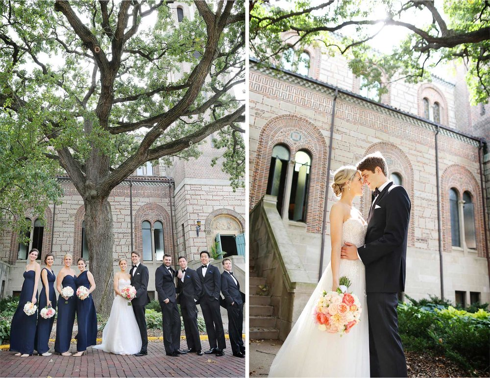 11-Saint-Paul-Minnesota-Wedding-Photographer-by-Andrew-Vick-Photography-Summer-Our-Lady-Of-Victory-Chapel-Church-Bride-Groom-Bridal-Party-Bridesmaids-Flowers-Groomsmen-Embrace-Michelle-and-Kevin.jpg