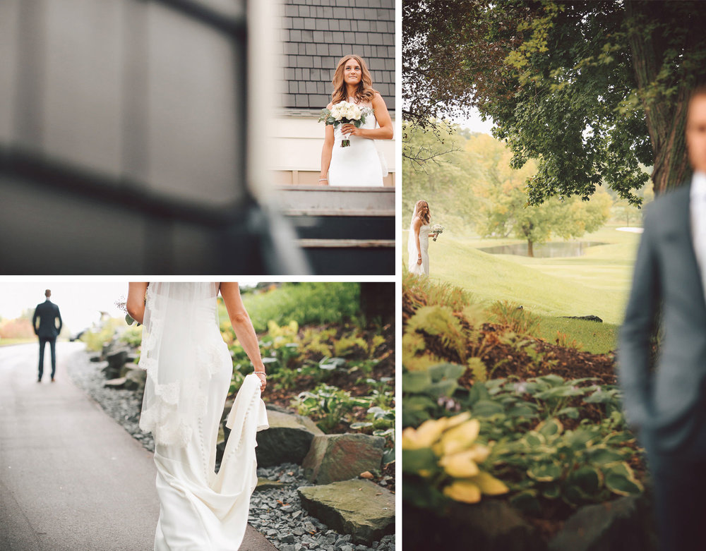 03-Dellwood-Minnesota-Wedding-Photographer-by-Andrew-Vick-Photography-Summer-Country-Club-First-Meeting-Look-Bride-Groom-Flowers-Vintage-Sarah-and-Landon.jpg