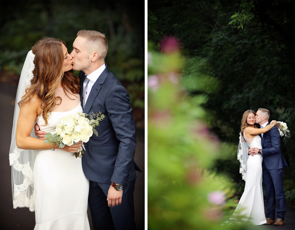 06-Dellwood-Minnesota-Wedding-Photographer-by-Andrew-Vick-Photography-Summer-Country-Club-First-Meeting-Look-Bride-Groom-Kiss-Embrace-Sarah-and-Landon.jpg