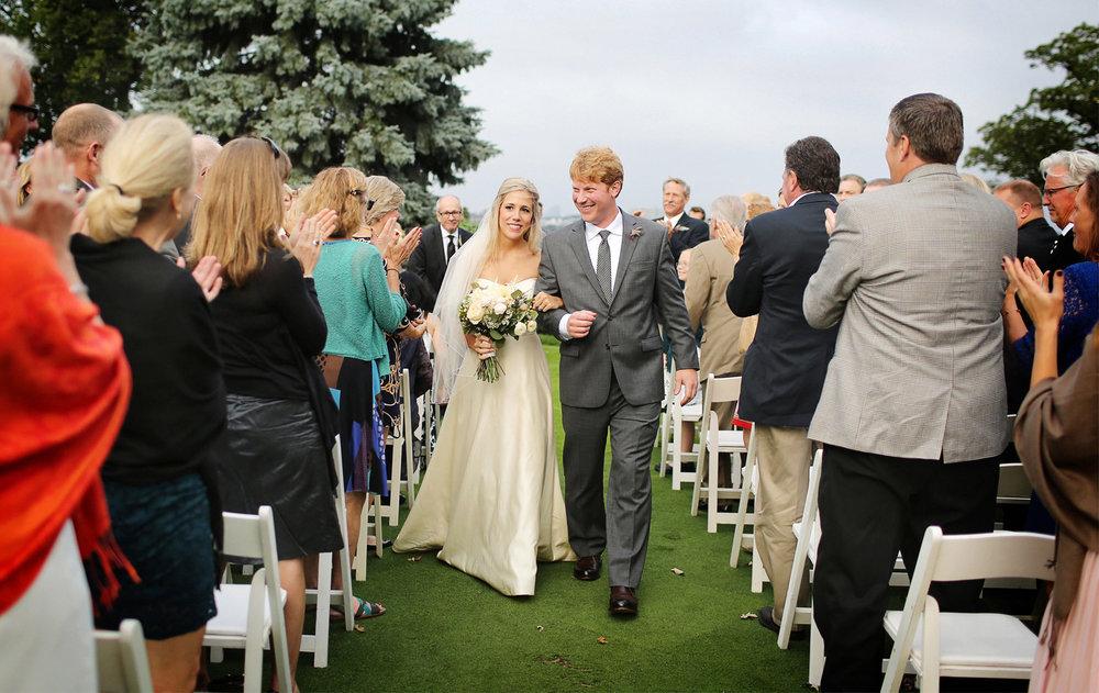 14-Minneapolis-Minnesota-Wedding-Photographer-by-Andrew-Vick-Photography-Fall-Autumn-Minikahda-Club-Ceremony-Bride-Groom-Recessional-Golf-Course-Krissy-and-James.jpg