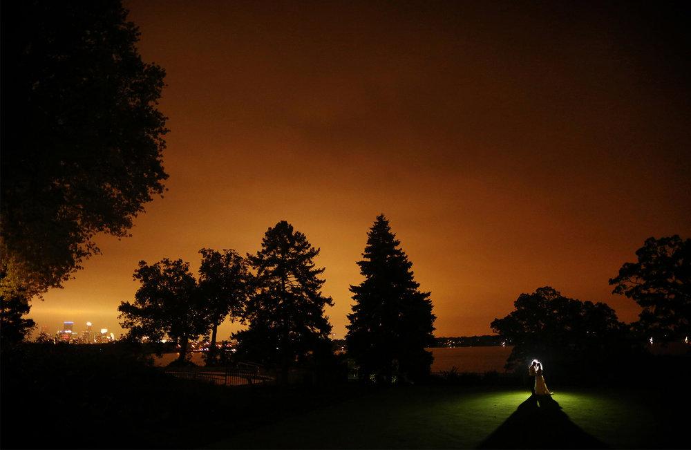 25-Minneapolis-Minnesota-Wedding-Photographer-by-Andrew-Vick-Photography-Fall-Autumn-Minikahda-Club-Golf-Course-Night-Embrace-Lake-Calhoun-Downtown-Skyline-Krissy-and-James.jpg