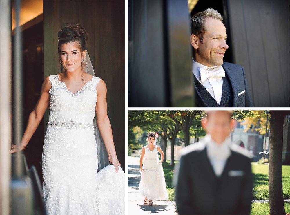 02-Saint-Louis-Park-Minnesota-Wedding-Photographer-by-Andrew-Vick-Photography-Fall-Autumn-Holy-Family-Catholic-Church-First-Meeting-Look-Bride-Groom-Vintage-Paula-and-Jason.jpg