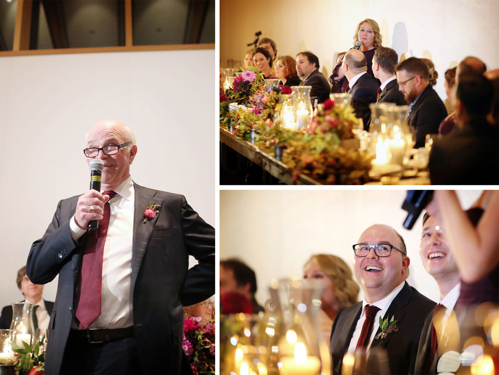 22-Minneapolis-Minnesota-Wedding-Photographer-by-Andrew-Vick-Photography-Fall-Autumn-American-Swedish-Institute-Reception-Groom-Speeches-Father-Bridesmaid-Ben-and-Adam.jpg