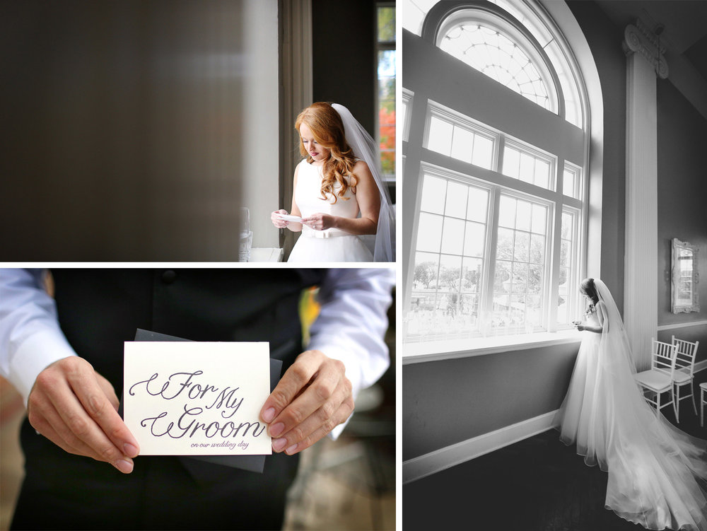 05-Minneapolis-Minnesota-Wedding-Photographer-by-Andrew-Vick-Photography-Fall-Autumn-Calhoun-Beach-Club-Getting-Ready-Bride-Groom-Letter-Note-Black-and-White-Kristy-and-Jack.jpg