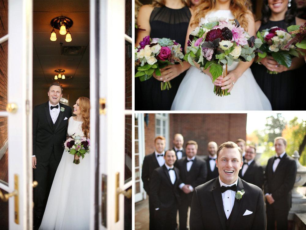 10-Minneapolis-Minnesota-Wedding-Photographer-by-Andrew-Vick-Photography-Fall-Autumn-Calhoun-Beach-Club-First-Look-Meeting-Bride-Groom-Bridesmaids-Groomsmen-Flowers-Laughter-Kristy-and-Jack.jpg