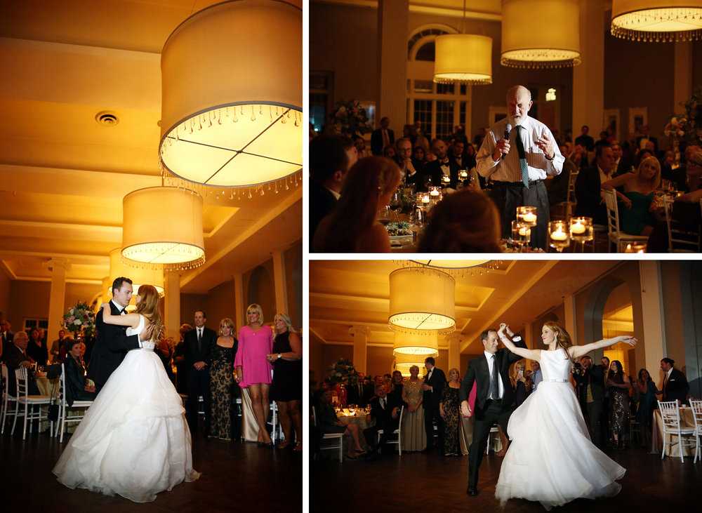 31-Minneapolis-Minnesota-Wedding-Photographer-by-Andrew-Vick-Photography-Fall-Autumn-Calhoun-Beach-Club-Reception-Bride-Groom-Speeches-Dance-Father-Parents-Twirl-Spin-Kristy-and-Jack.jpg