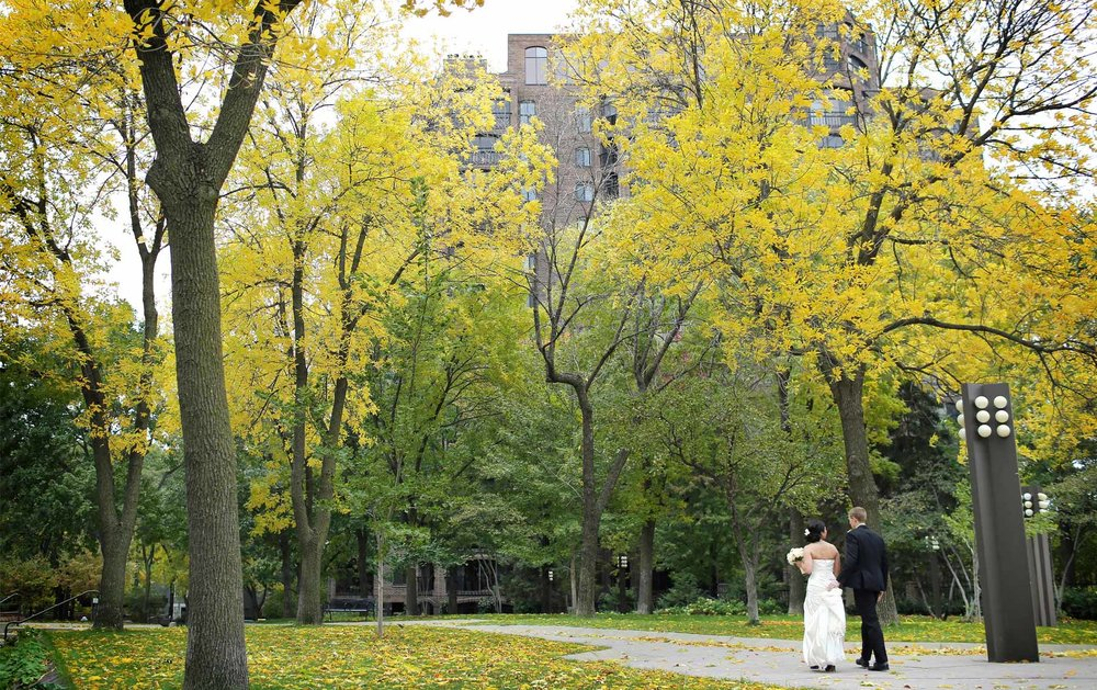 10-Minneapolis-Minnesota-Wedding-Photographer-by-Andrew-Vick-Photography-Fall-Autumn-Millennium-Hotel-First-Look-Meeting-Bride-Groom-Amanda-and-Cary.jpg