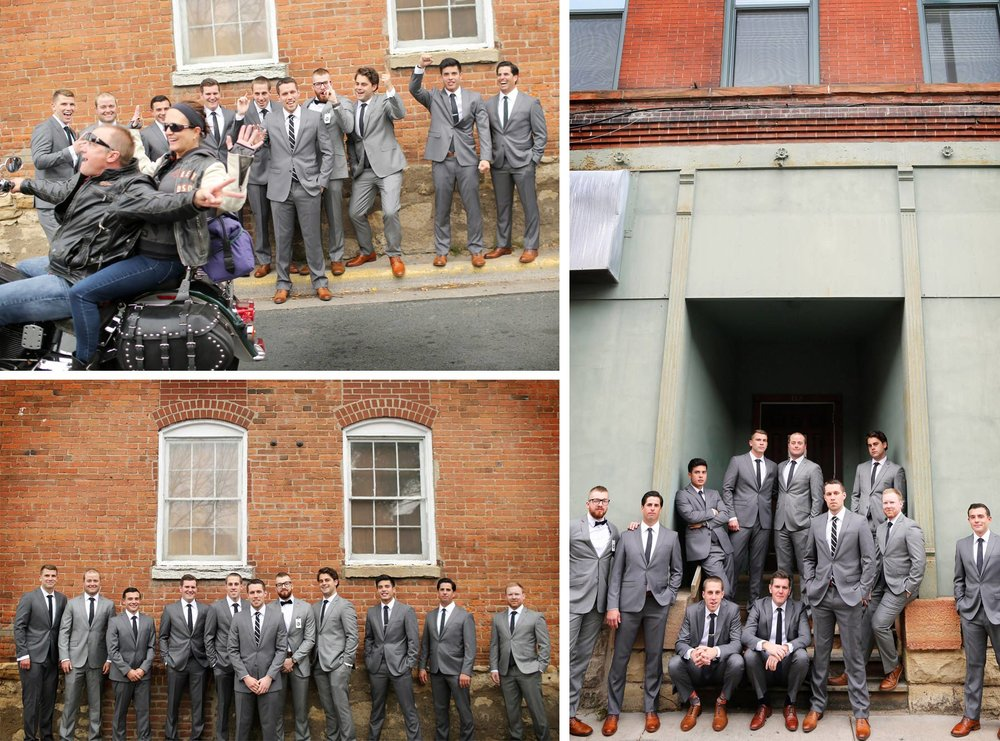 12-Stillwater-Minnesota-Wedding-Photographer-by-Andrew-Vick-Photography-Fall-Autumn-Groom-Groomsmen-Motorcycle-Micaela-and-Derek.jpg