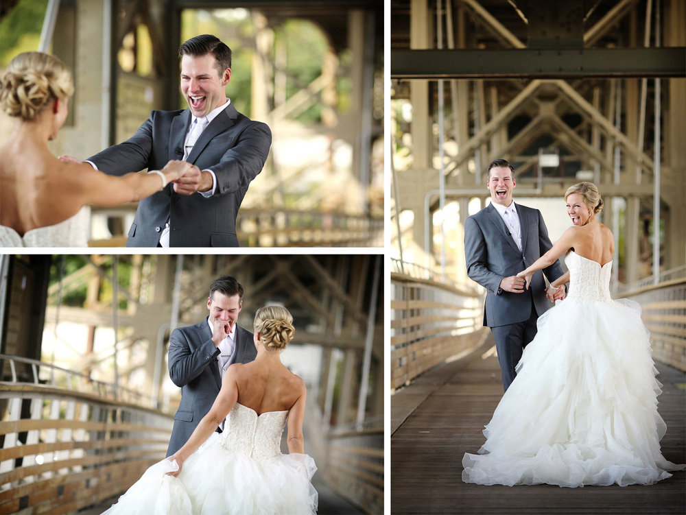 11-Milwaukee-Wisconsin-Wedding-Photographer-by-Andrew-Vick-Photography-Fall-Autumn-Destination-Holton-Bridge-Swing-Park-First-Meeting-Look-Bride-Groom-Excitement-Laughter-Tears-Tina-and-Kevin.jpg