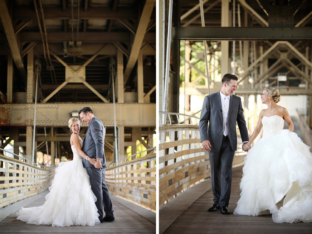12-Milwaukee-Wisconsin-Wedding-Photographer-by-Andrew-Vick-Photography-Fall-Autumn-Destination-Holton-Bridge-Swing-Park-First-Meeting-Look-Bride-Groom-Excitement-Laughter-Tina-and-Kevin.jpg