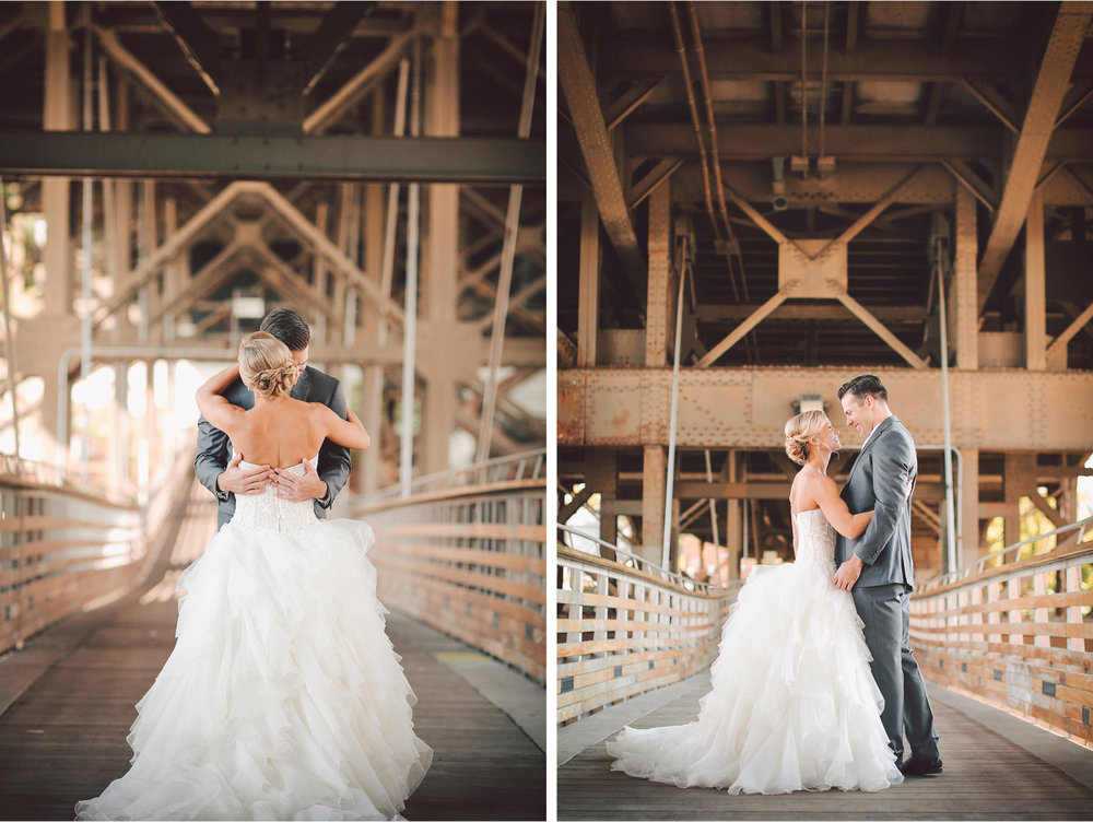 13-Milwaukee-Wisconsin-Wedding-Photographer-by-Andrew-Vick-Photography-Fall-Autumn-Destination-Holton-Bridge-Swing-Park-First-Meeting-Look-Bride-Groom-Embrace-Hug-Vintage-Tina-and-Kevin.jpg