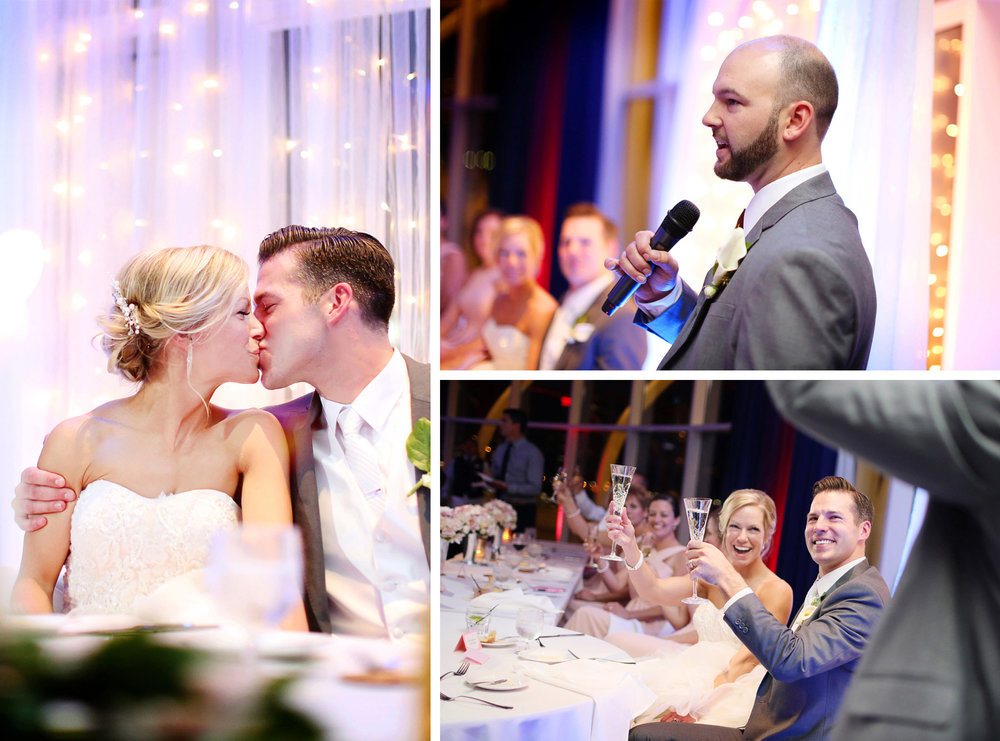 27-Milwaukee-Wisconsin-Wedding-Photographer-by-Andrew-Vick-Photography-Fall-Autumn-Discovery-World-Pilot-House-Destination-Bride-Groom-Kiss-Speeches-Groomsmen-Champagne-Tina-and-Kevin.jpg