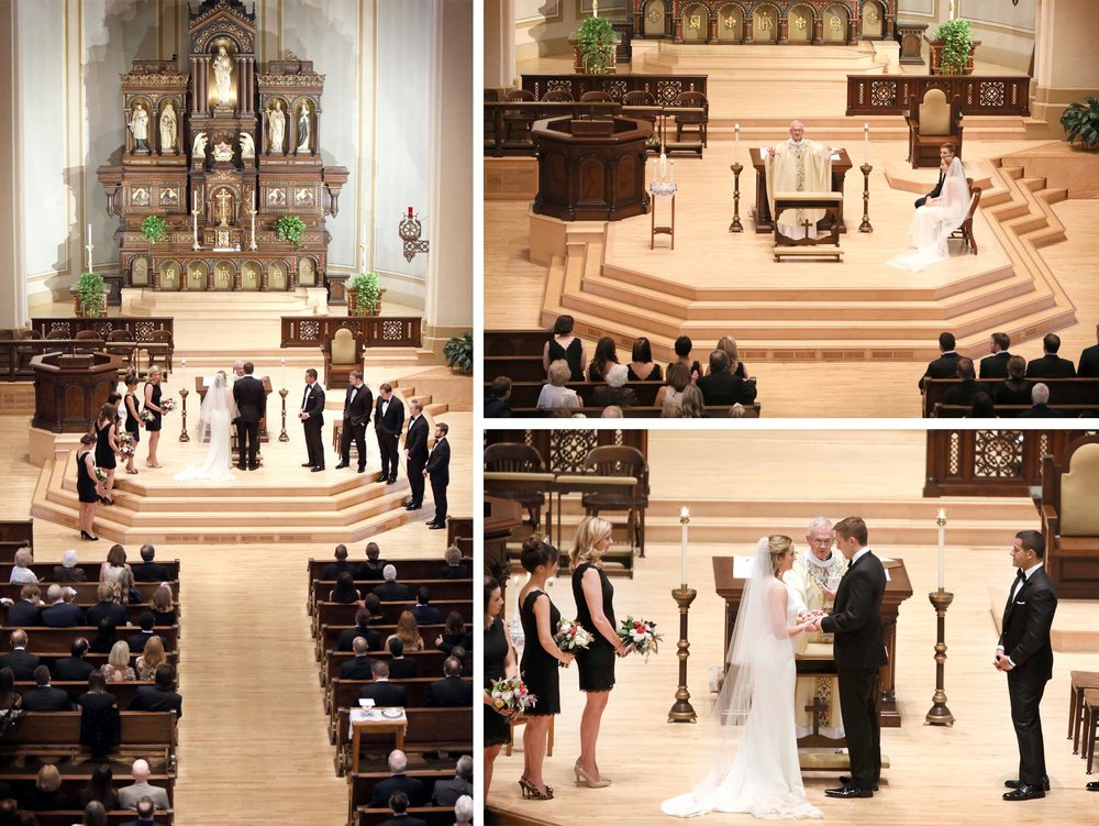 08-Saint-Paul-Minnesota-Wedding-Photographer-by-Andrew-Vick-Photography-Fall-Autumn-Church-of-the-Assumption-Ceremony-Bride-Groom-Bridal-Party-Vows-Prayer-Kathryn-and-Sam.jpg