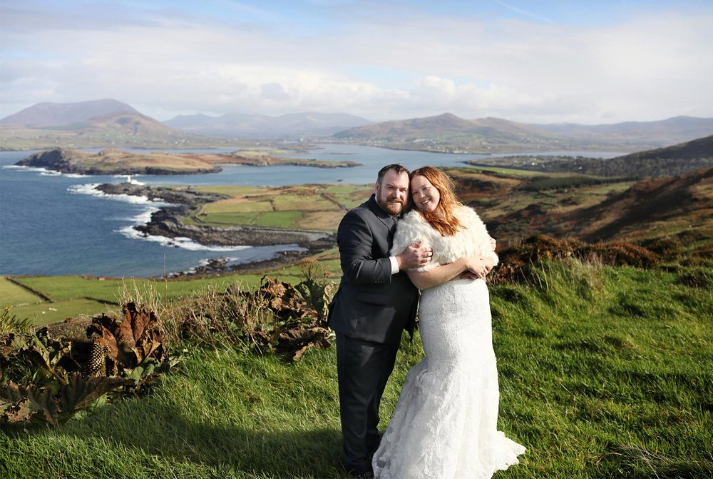 06-Kilarney-Ireland-Wedding-Photographer-by-Andrew-Vick-Photography-Fall-Autumn-Destination-Bride-Groom-Landscape-Countryside-Village-Embrace-Ocean-Becca-and-Donal.jpg