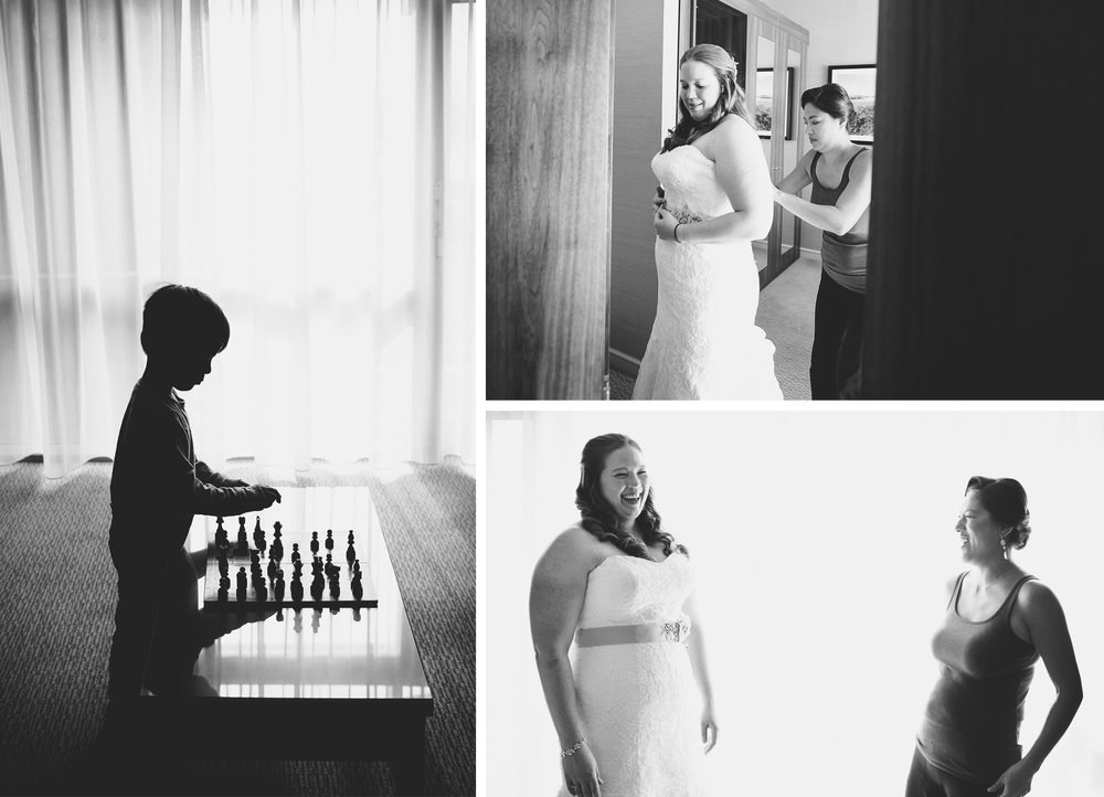 17-Kilarney-Ireland-Wedding-Photographer-by-Andrew-Vick-Photography-Fall-Autumn-Destination-Getting-Ready-Kid-Chess-Bride-Bridesmaid-Black-and-White-Becca-and-Donal.jpg